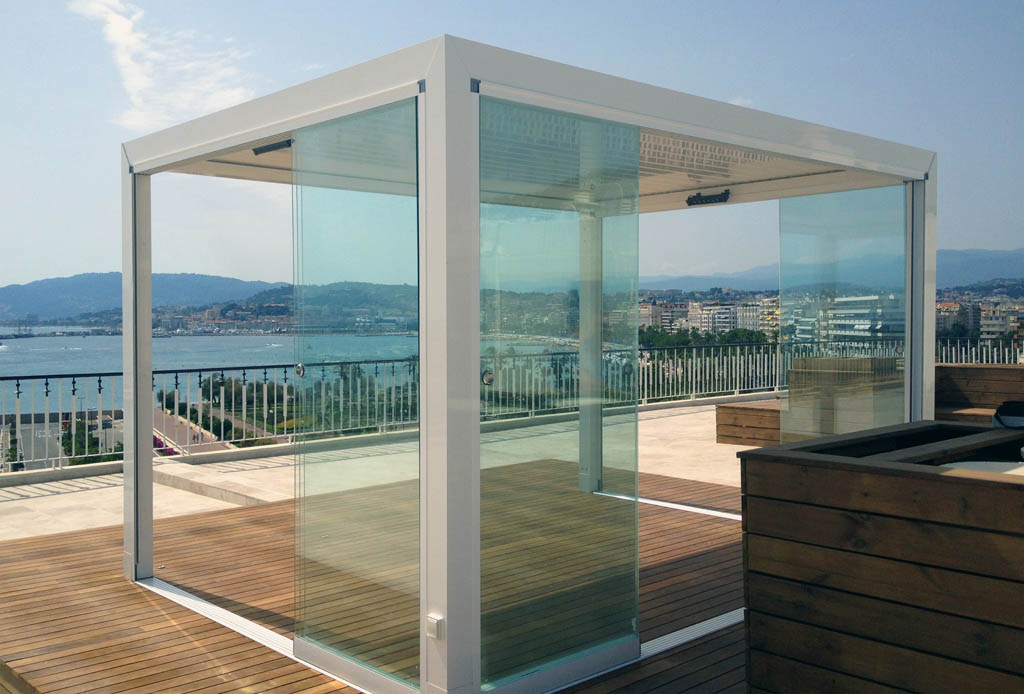 Cortinas de cristal cerramientos de cristal c3 systems for Cerramiento cortina cristal