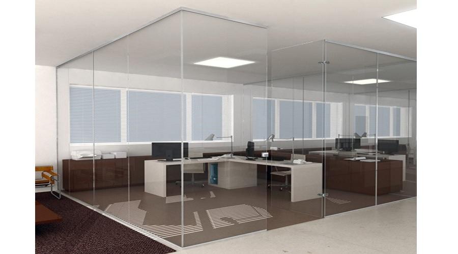 Sistema de paredes fijas de vidrio seeglass FIX