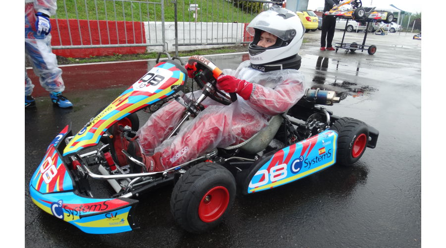 Patrocinio karting C3 SystemS