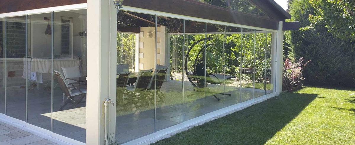 Cerrar porche jardin - Porches de aluminio y cristal ...